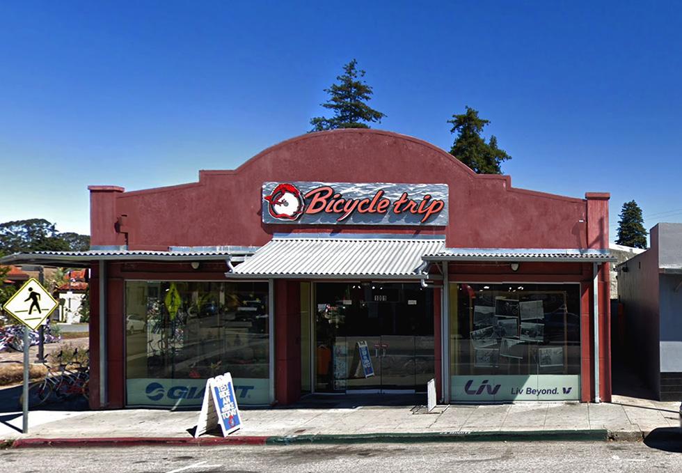 The Bicycle Trip, Santa Cruz, California